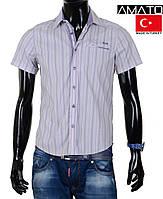 Мужская рубашка с коротким рукавом, Турция