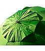 Зонт пляжный, торговый, диаметр 3 метра, с ветровым клапаном и серебряным напылением, 16 спиц из пластика, фото 5