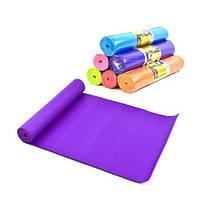 Коврик для йоги, 6 мм (фиолетовый) C34472