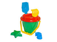 Игрушка набор песочный замок технок