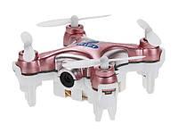 Квадрокоптер нано Wi-Fi Cheerson CX-10W с камерой. розовый - 139775