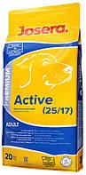 Корм Josera Active для взрослых и активнх собак всех пород Упаковка 20 кг