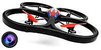 Квадрокоптер большой на радиоуправлении 2.4ГГц WL Toys V333 Cyclone 2 с камерой - 139810