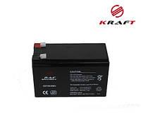 Аккумуляторная Батарея KRAFT 12В 7Ач