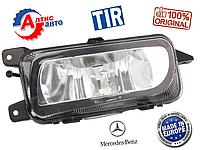 Противотуманка- фара на Мерседес Актрос MP2 / MP3, лампа  H3 Mercedes-Benz Atego оптика для грузовиков атего