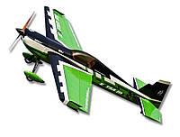Самолёт на радиоуправлении Precision Aerobatics Extra MX 1472мм KIT. зеленый - 139836