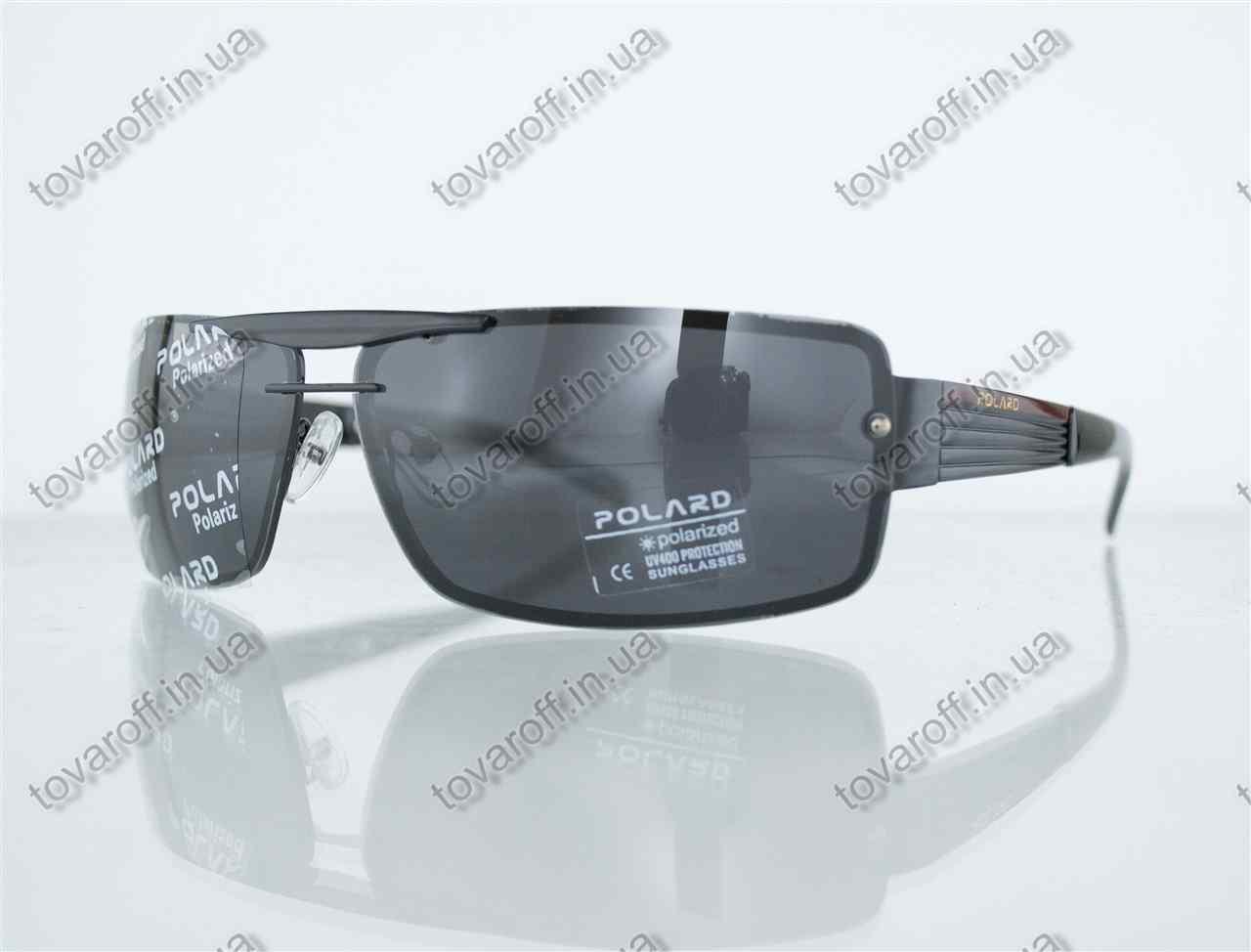 Очки мужские сонцезащитные поляризационные - Черные - P07001