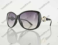 Оптом очки женские солнцезащитные - Черные - 8822, фото 1