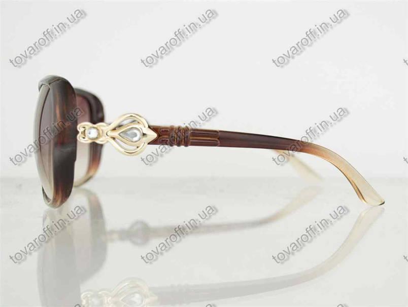 Оптом очки женские солнцезащитные - Коричневые - 8822, фото 2