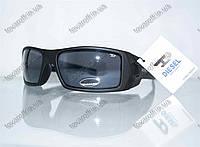 Оптом очки мужские солнцезащитные спортивные Diesel (Дизель) - Черные - 5877