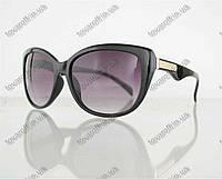 Оптом очки женские солнцезащитные - Черные - 5863, фото 1