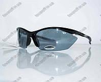 Очки мужские солнцезащитные спортивные Diesel (Дизель) - Черные - 5816, фото 1