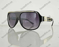 Оптом очки унисекс солнцезащитные - Черные - 1098, фото 1