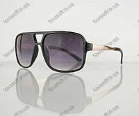 Оптом очки мужские солнцезащитные - Черные - 373, фото 1