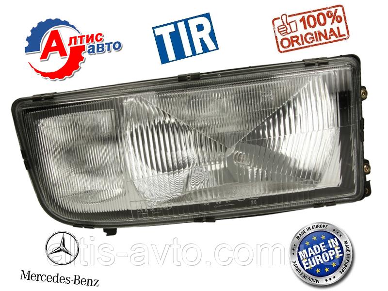 Фара на Мерседес Актрос, Axor, Атего лампа  H4/H1 оптика для грузовиков Mercedes-Benz Atego стекло