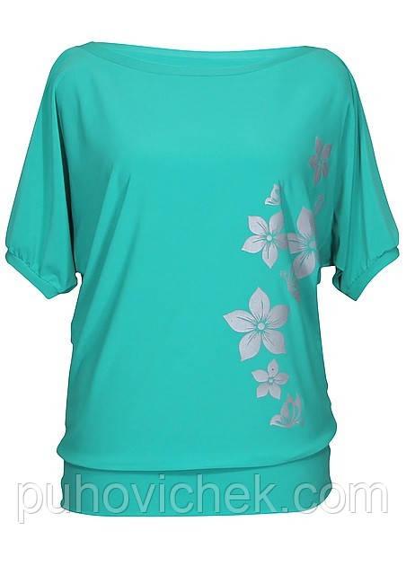 Женские туники и блузки летние