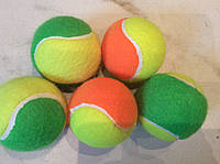 Мяч для большого тенниса цветной