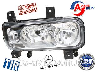 Фара Mercedes-Benz Atego хромированная H1/H1/H7 Атего Мерседес фары оптика для грузовиков