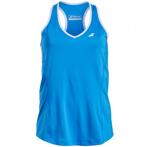 437528dd845f Майка для тенниса женская Babolat CORE CROP TOP WOMEN DIVA BLUE  3WS18071/4013