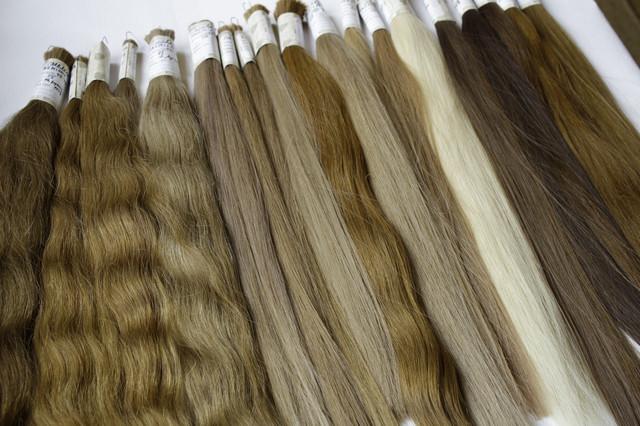 Славянские волосы нарашивания класса премиум плюс