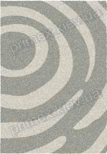 Килимок для будинку Opal Cosy structure кола колір сірий