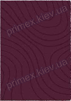 Ковер для дома Opal Cosy structure рельеф цвет фиолетовый