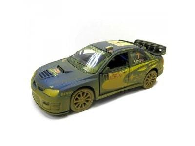 Автомодель Металлич. 1:36 Subaru Impreza WRC 2007 KT5328WY Kinsmart