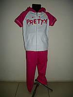 Спортивный костюм для девочки летний р-ры 2, 4, 6, 8, 10