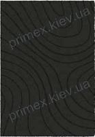 Ковер для дома Opal Cosy structure рельеф цвет темно-серый