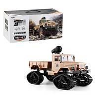 """Машинка на радиоуправлении """"Военный грузовик"""" (бежевая) FY001B"""