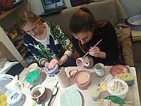 Мастер-класс по декорированию и росписи керамики