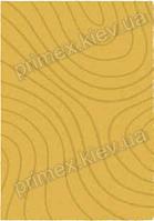 Ковер для дома Opal Cosy structure рельеф цвет желтый