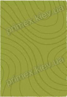 Ковер для дома Opal Cosy structure рельеф цвет зеленый