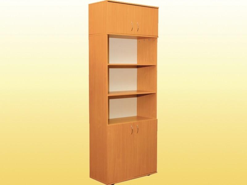 Шкаф книжный с антресолью (0632,0653)