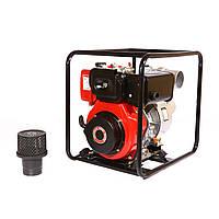 Мотопомпа дизельная WEIMA WMCGZ100-30  (12 л.с., 120 м3/ч, 100 мм, электростартер)