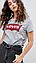 Футболка жіноча бренд коттон стрейч, фото 3
