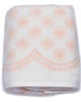 Махровые полотенца 70х140 ARYA Demet персик