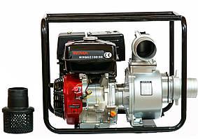 Мотопомпа бензиновая WEIMA WMQGZ100-30 NEW 18 л.с. (130 куб.м/час)