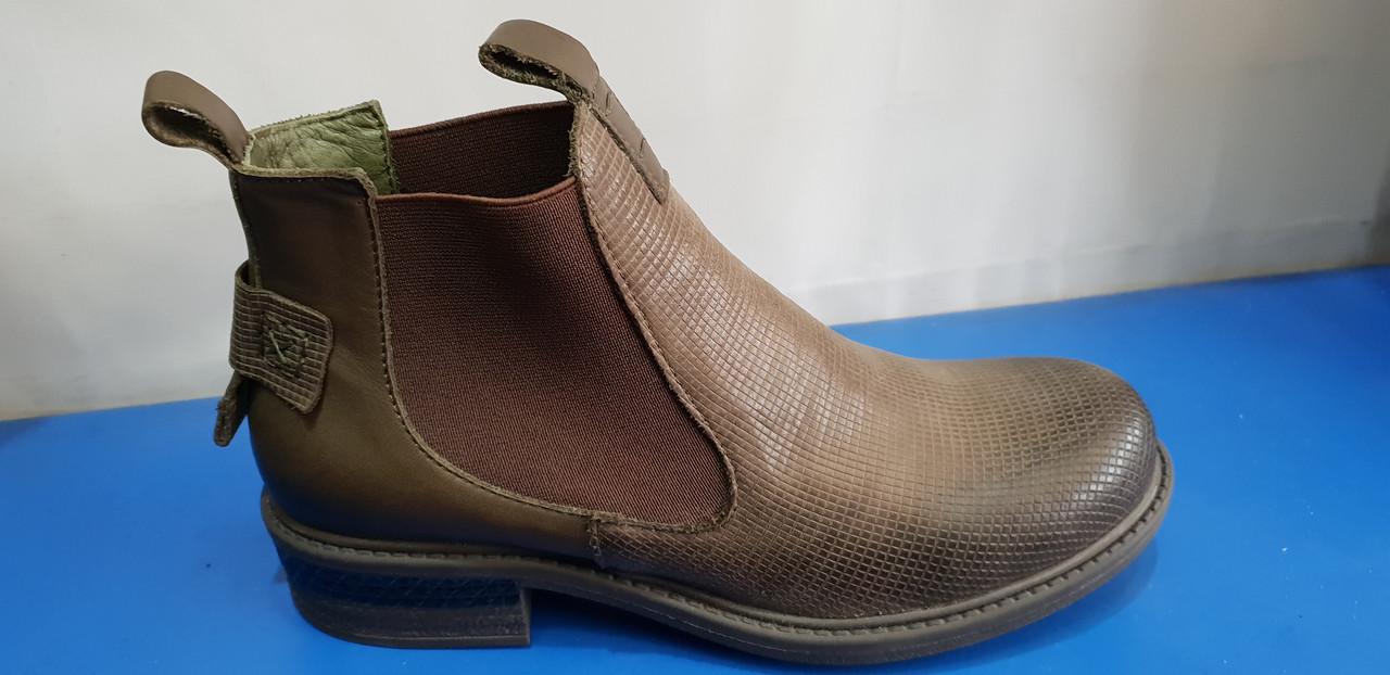 Стильные женские кожаные ботиночки