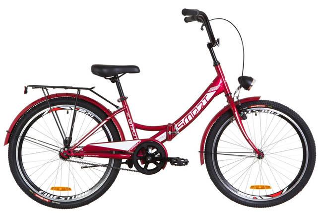 """Складной велосипед 24"""" Formula SMART с фонарём 2020, фото 2"""