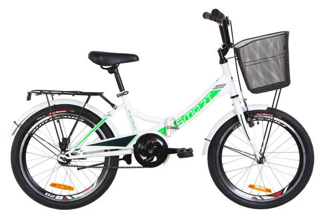 """Складной велосипед 20"""" Formula SMART с корзиной 2020, фото 2"""