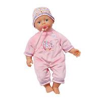Кукла с соской 32 см My Little Baby Born Zapf Creation 819753