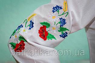 Женская вышиванка Маки   Жіноча вишиванка Маки, фото 3