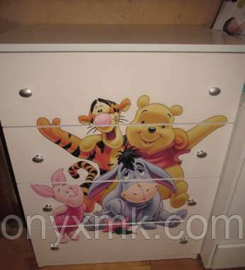 Мебельные фасады с рисунком - Фотопечать в детскую