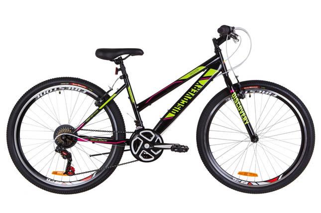 """Городской велосипед 26"""" Discovery PASSION 2019 (черно-зеленый с малиновым), фото 2"""