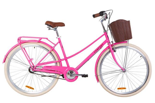 """Городской велосипед 28"""" Dorozhnik COMFORT FEMALE PH 2019 (персиковый), фото 2"""