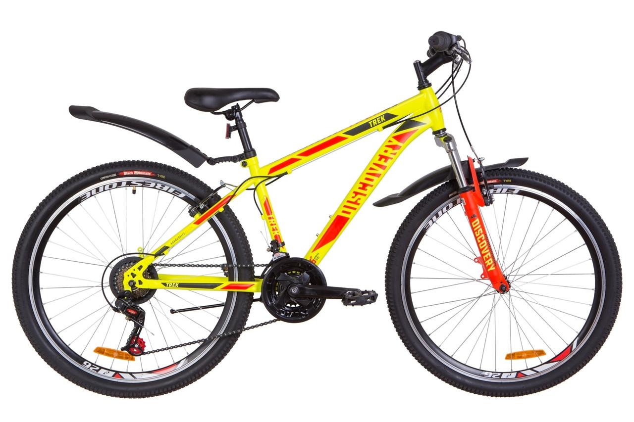 "Горный велосипед 26"" Discovery TREK 2019 (желтый (м))"