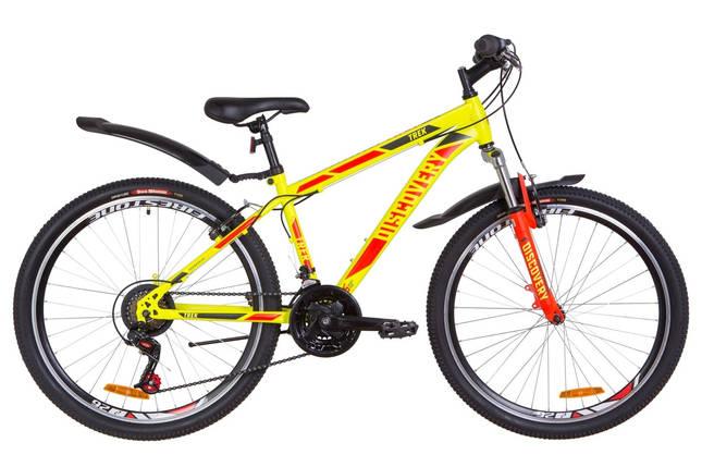 """Горный велосипед 26"""" Discovery TREK 2019 (желтый (м)), фото 2"""
