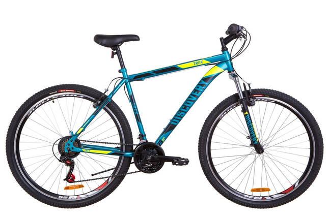 """Горный велосипед 29"""" Discovery TREK 2019 (малахитовый с желтым (м)), фото 2"""