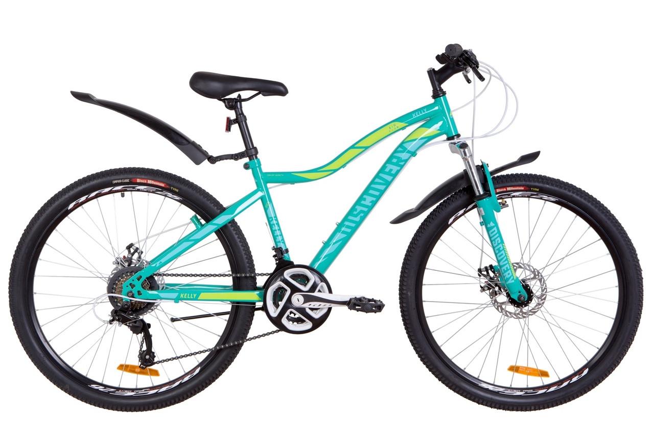 "Горный велосипед 26"" Discovery KELLY DD 2019 (зеленый)"